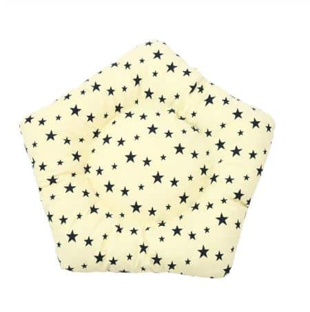 Dog Teepee Bed with Cushion Stars Pattern - Mat