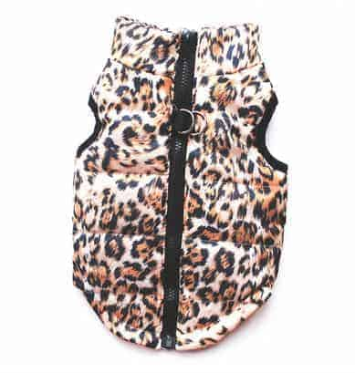 Dog Waterproof Coat - Leopard Print