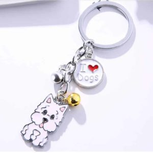 Dog Lover's Keychain - 004