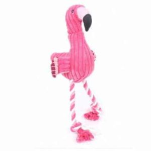 Flamingo Dog Toy - Pink